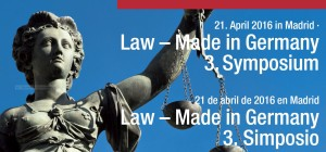 Law Made in Germany - Madrid
